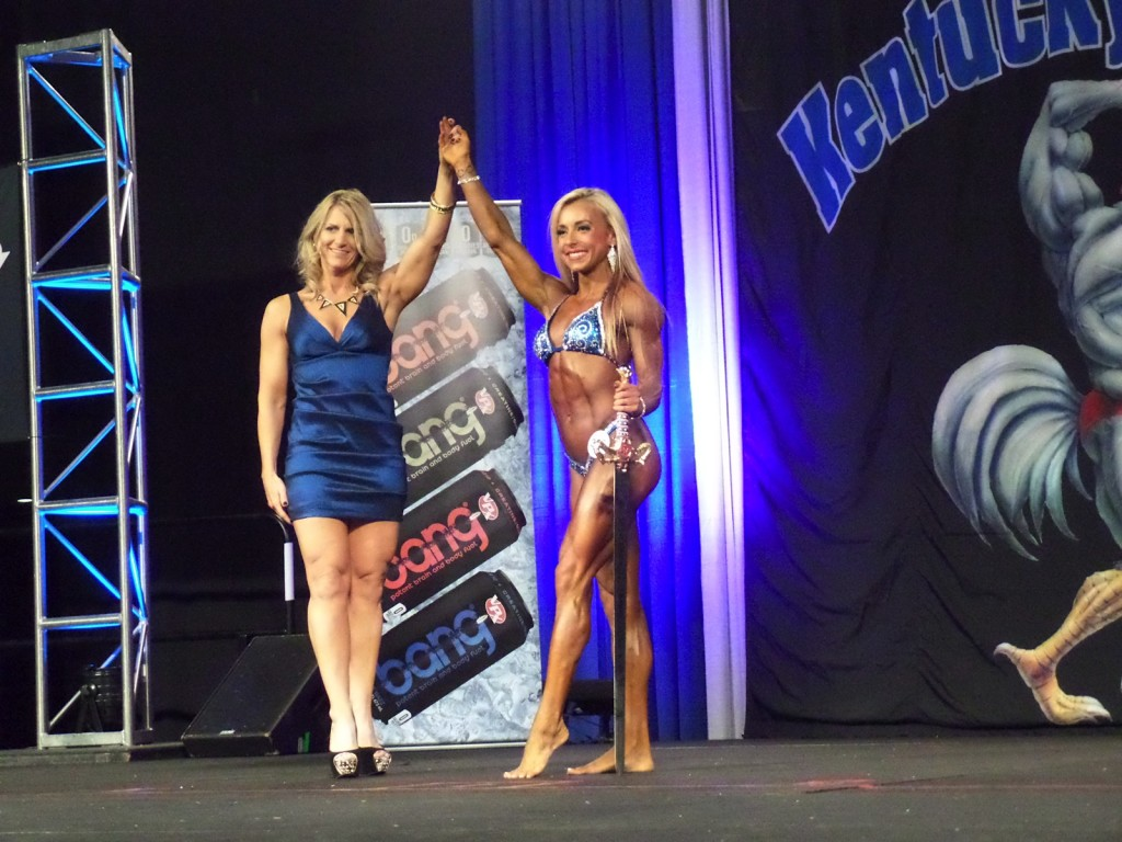 Hanna Hallman at Kentucky Muscle